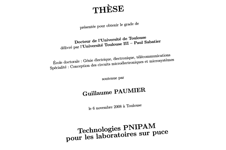 Screenshot of the thesis' cover